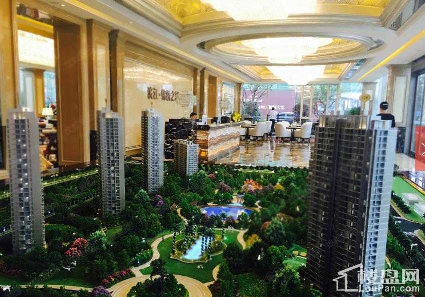 滨江锦绣之城实景图