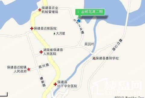 金域龙湾二期位置图