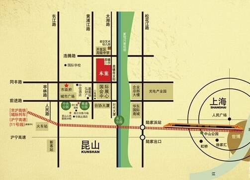 昆山珠江御景位置图