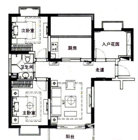 新虹桥首府户型图