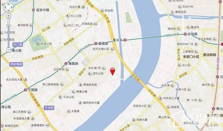 东外滩17公馆位置图