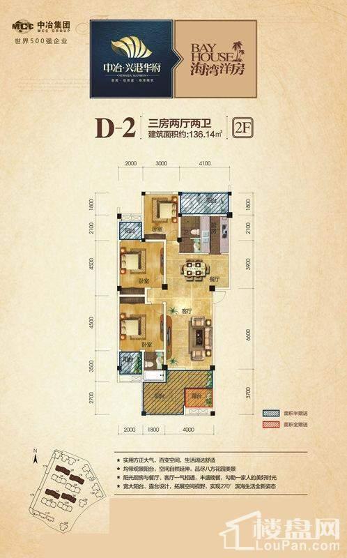 2号/5号/7号/9号楼2层D-2户型
