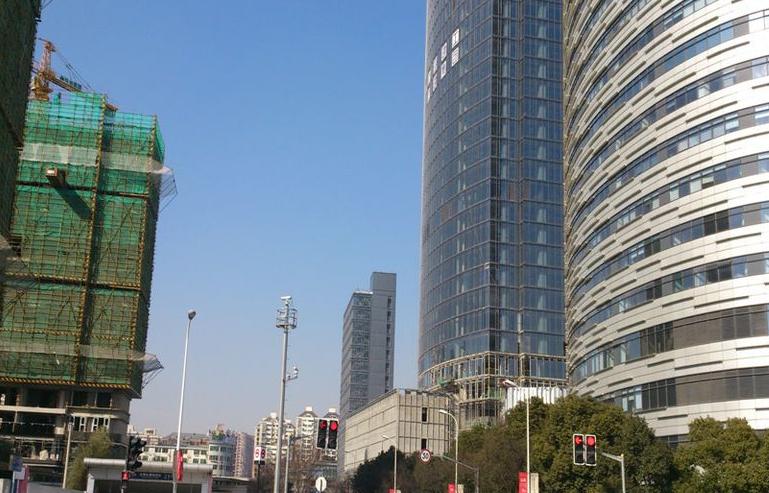 绿地黄浦滨江实景图