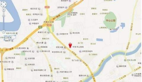 中海御山首府位置图