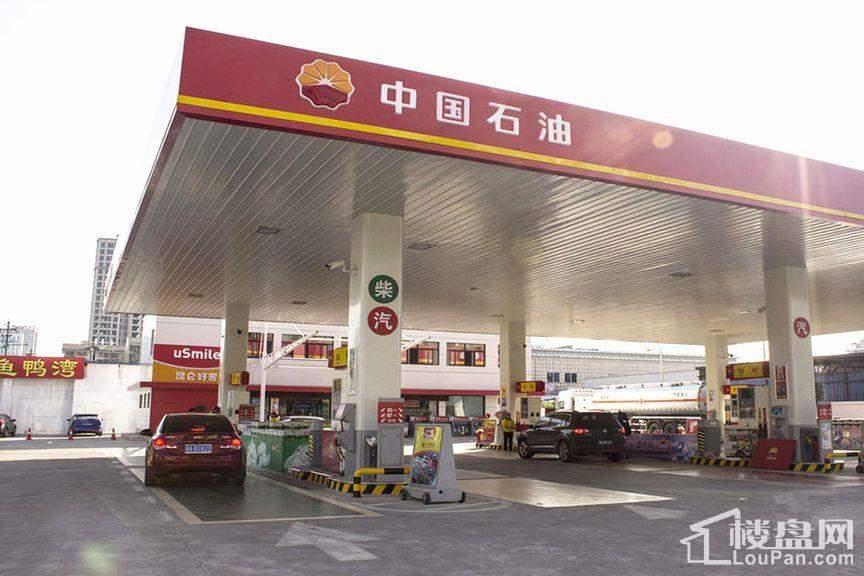汇城尚东周边加油站