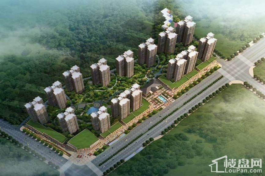 三润城实景图