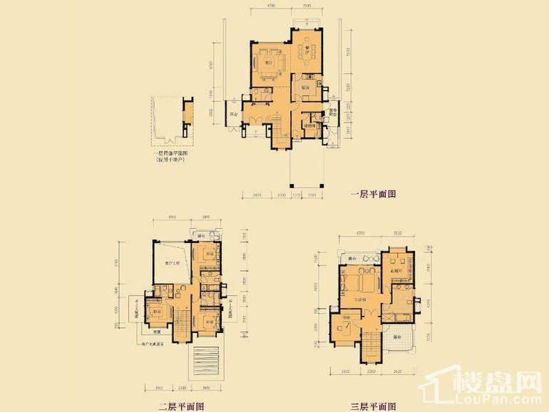 盈峰翠邸君墅A1户型
