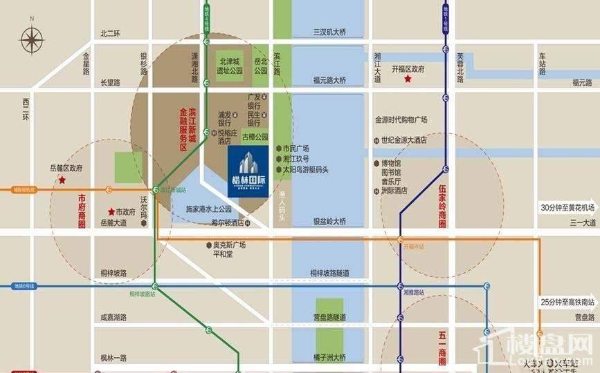 楷林国际区位图