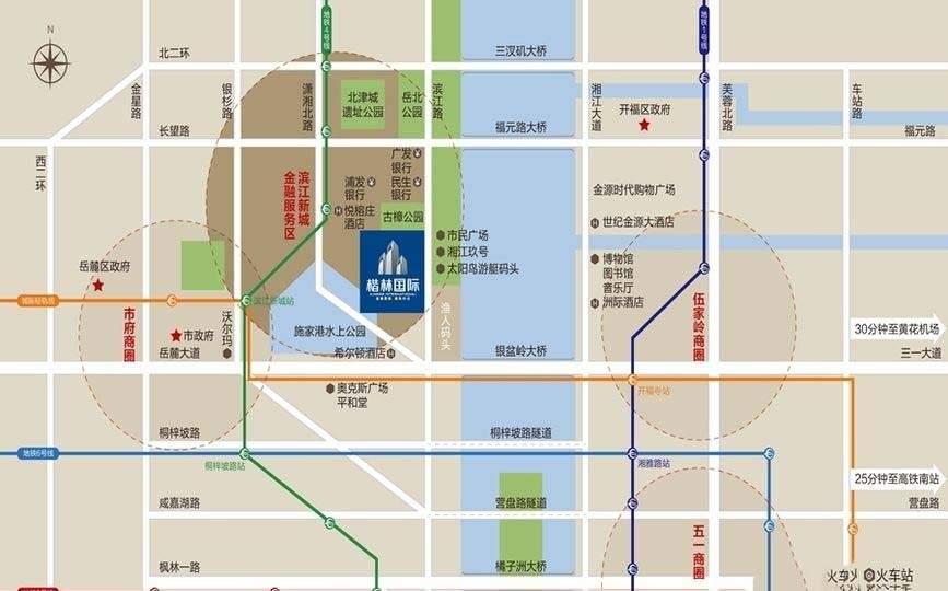 楷林国际位置图