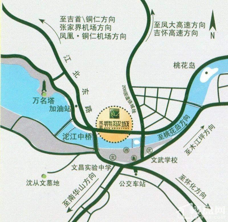 凤凰翡翠城位置图