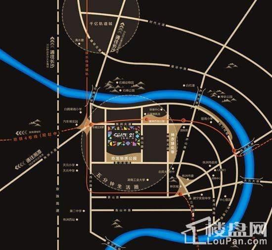 型格广场位置图