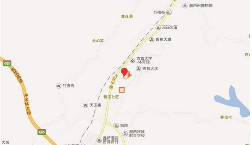 吉首大汉新城位置图