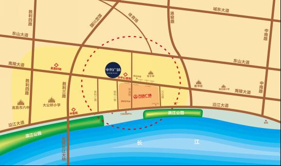 中兴广场位置图