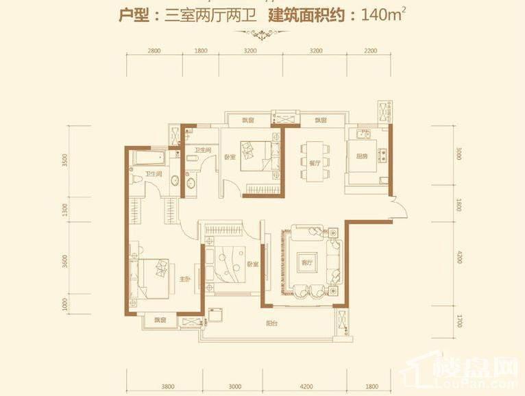 荣悦台 5栋04户型