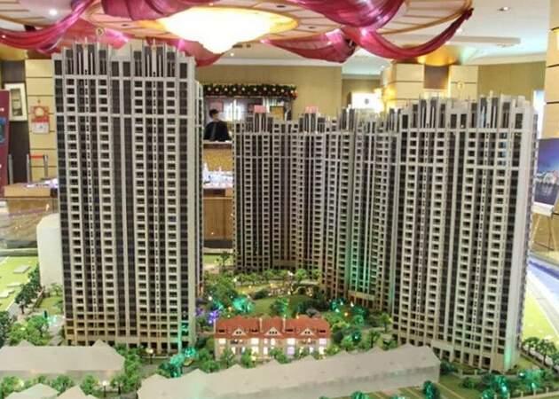 国际滨江城实景图