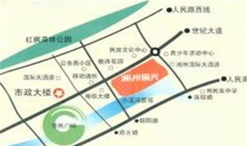 湘州阳光位置图