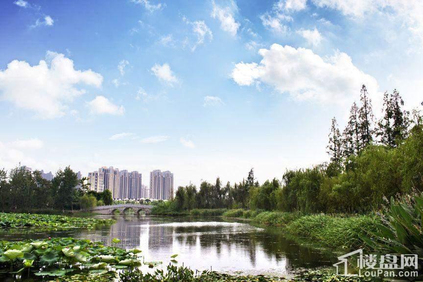 北大资源理想家园 周边湖景