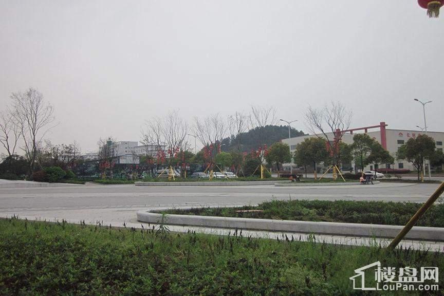 长沙绿地新都会 实景图