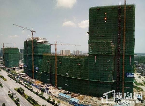 防城港北部湾国际金融中心实景图