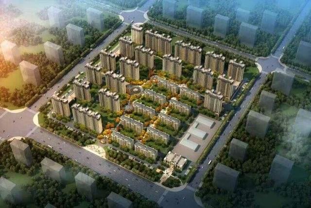 未来城实景图