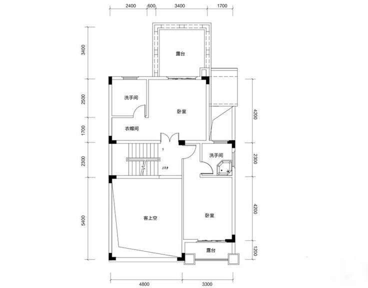 金色溪泉湾 E12栋-C2c次户型二层