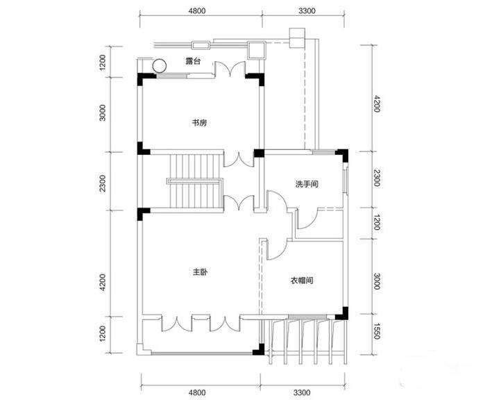 金色溪泉湾 E12栋-C2c次户型三层