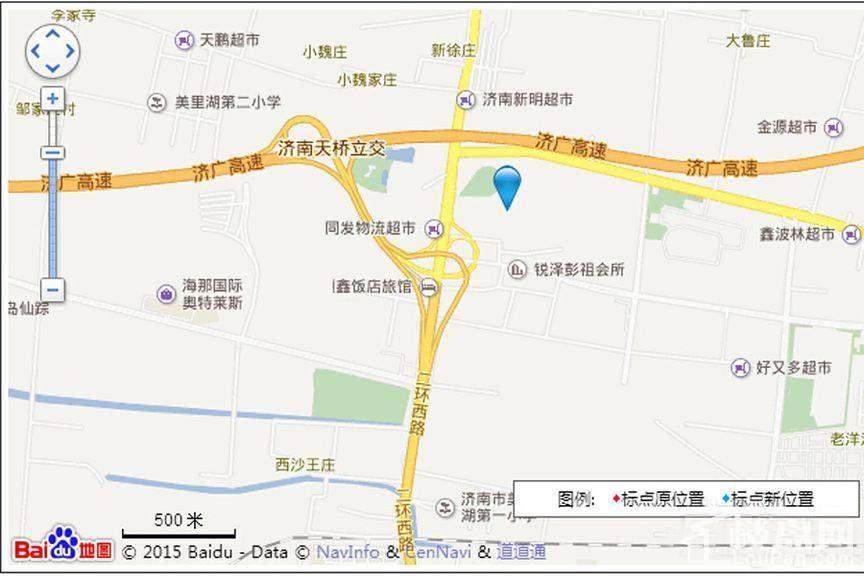 海信九麓府位置图