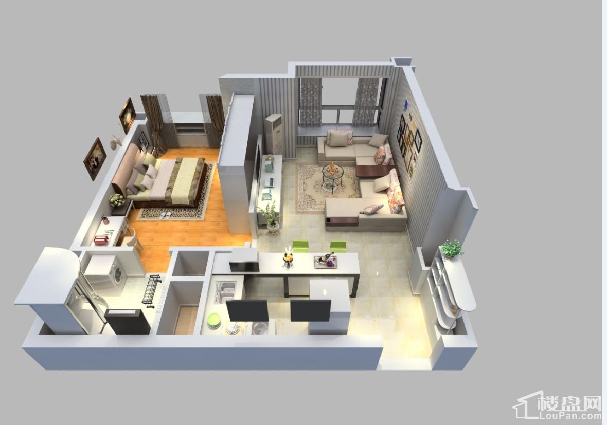 精装修公寓