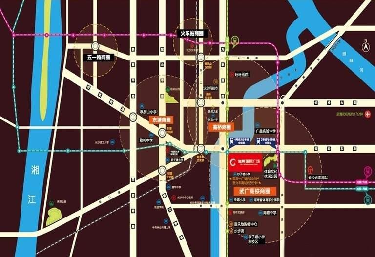 旭辉国际广场位置图