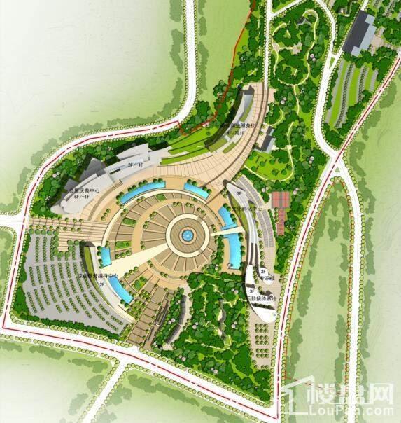 南龛巴国城效果图