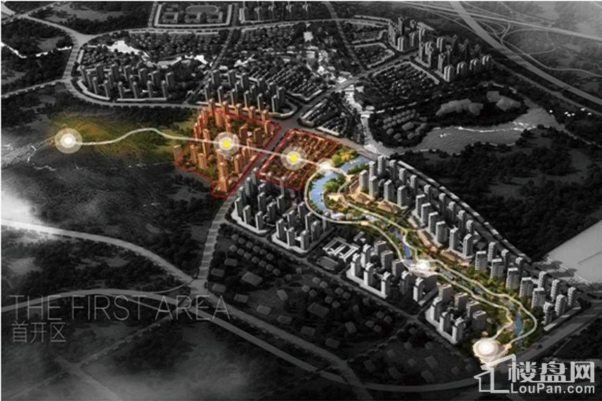 重庆万达城首开区效果图