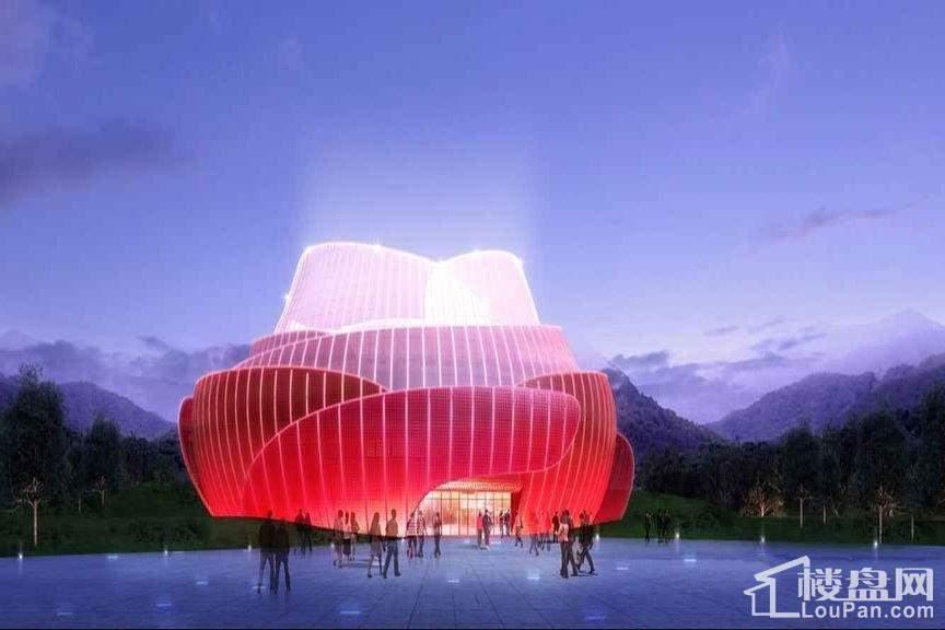 重庆万达城展示中心效果图