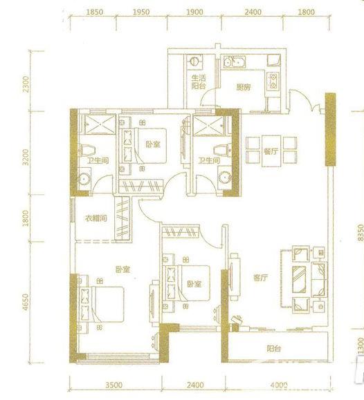 信基广场户型图