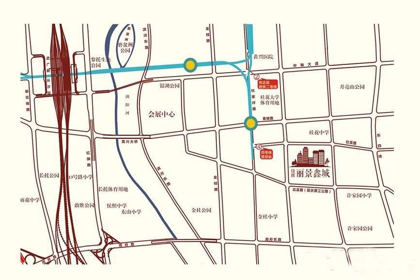 佳辉丽景鑫城位置图