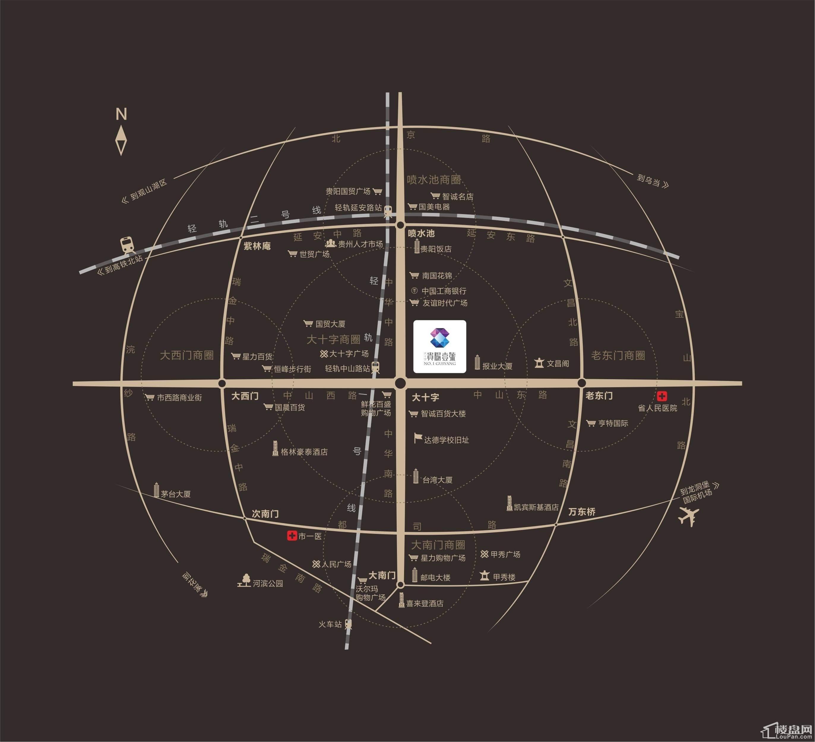 贵阳壹号位置图