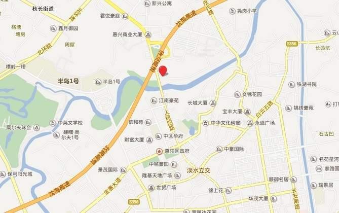 天安珑城位置图