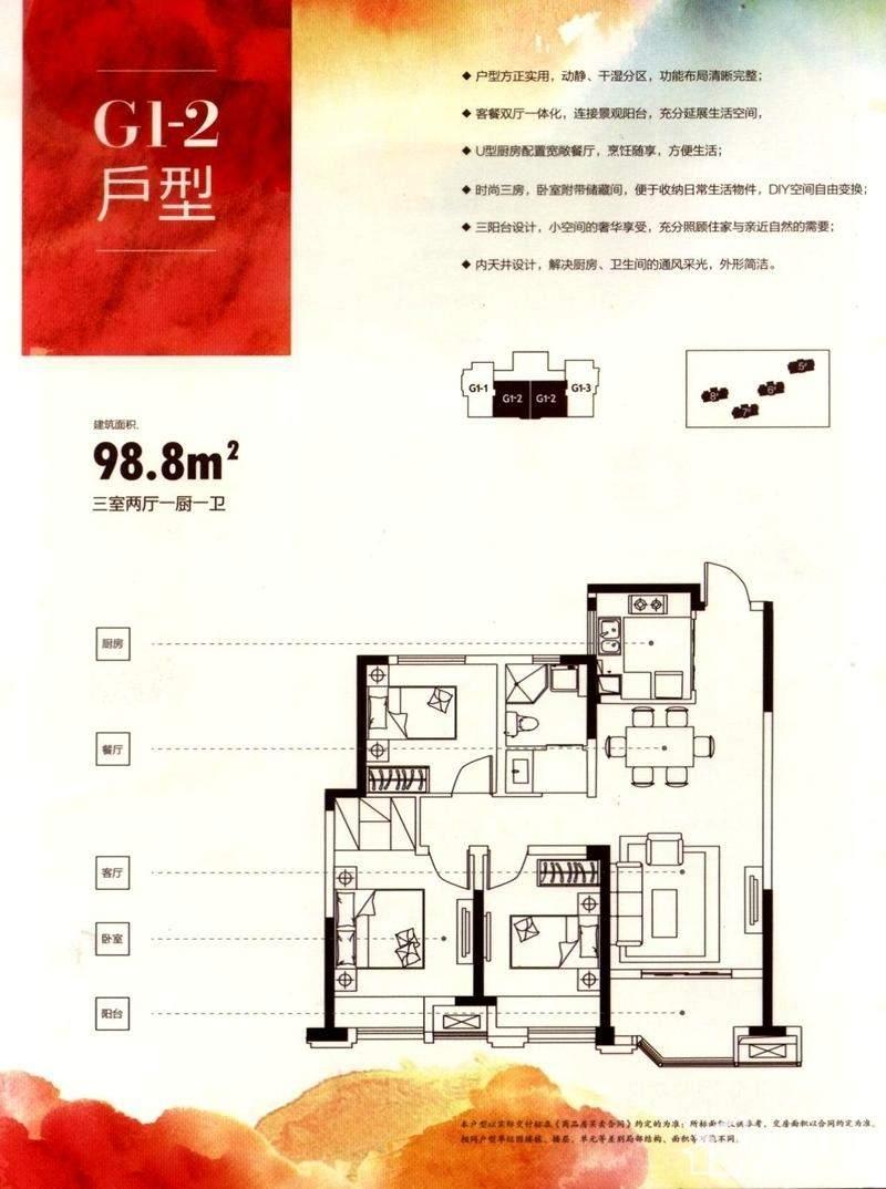 合肥国祯广场户型图