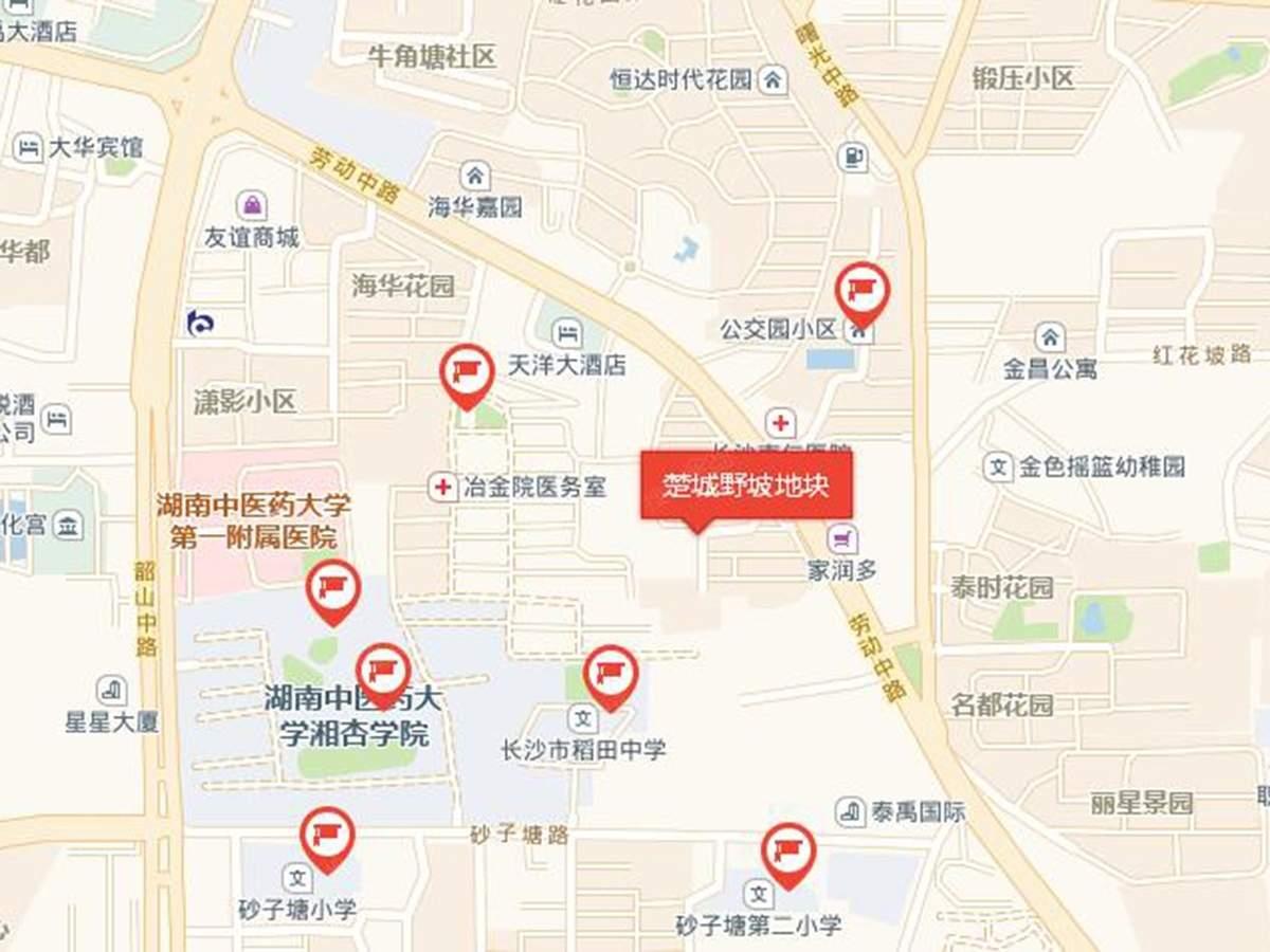 楚城野坡位置图