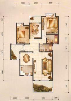 奥斯汀公寓户型图