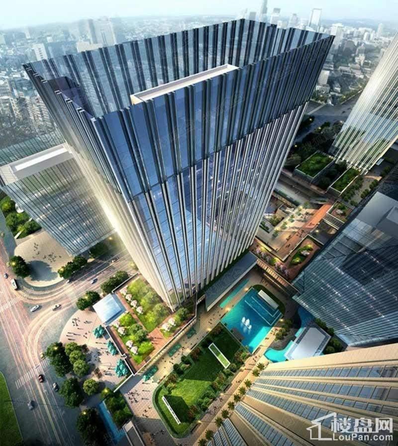 金融街(长安)中心效果图
