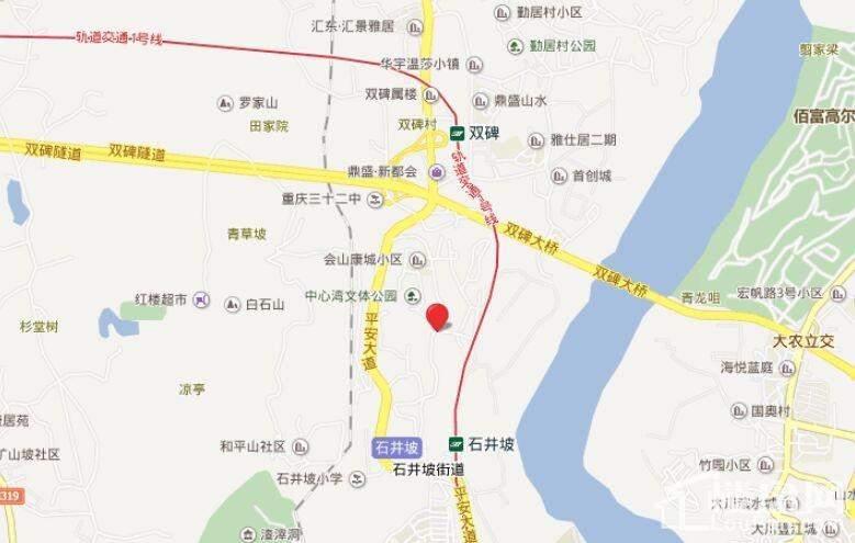 中昂嘉御湾位置图