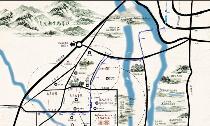 万年·广阳郡九号位置图