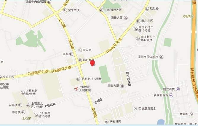 益田米兰公馆位置图