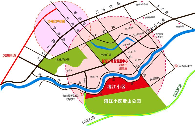 溶江·新外滩位置图