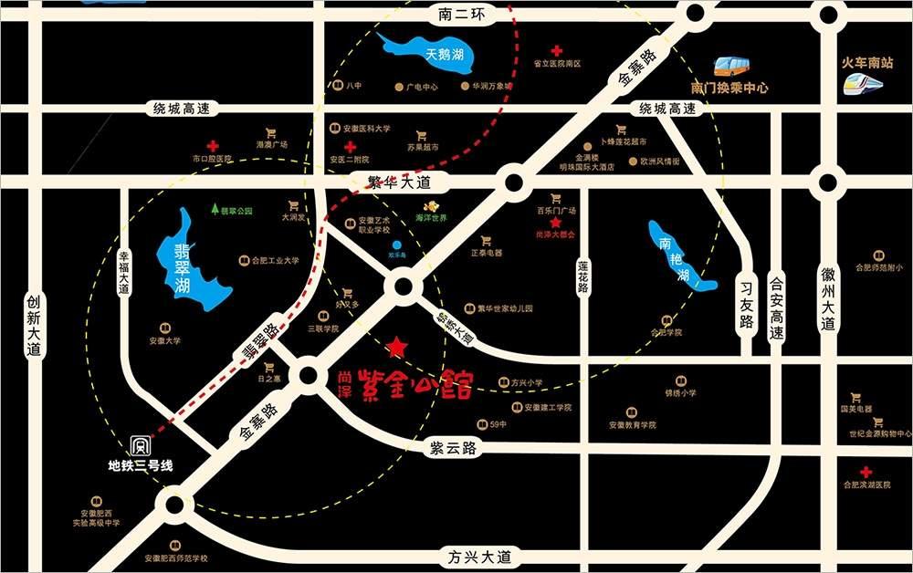 尚泽紫金公馆位置图