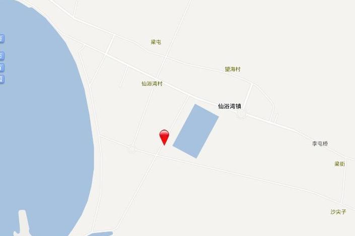 仙浴湾 温泉海岸位置图