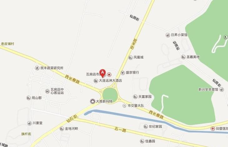 远洲国际城位置图