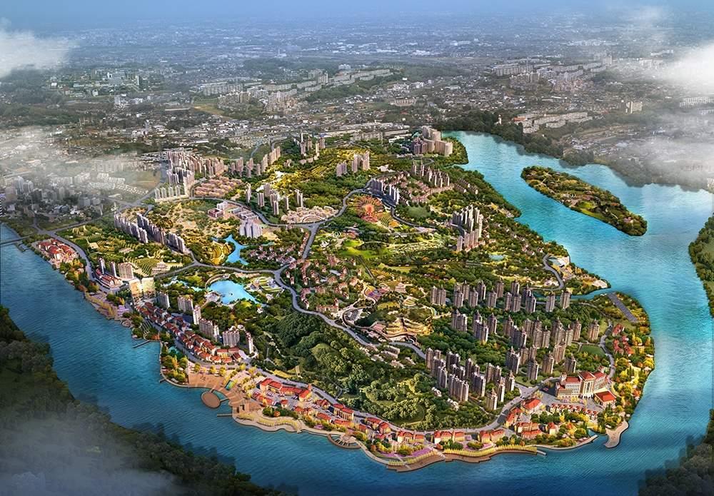 龙女湖·国际滨江大社区