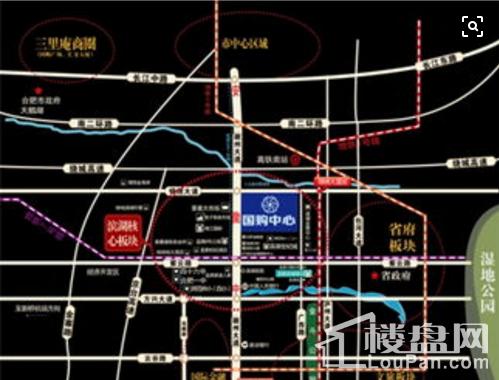 滨湖国购中心配套图