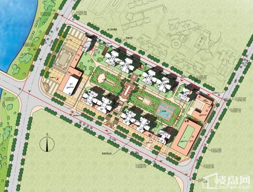 杨坝小院位置图